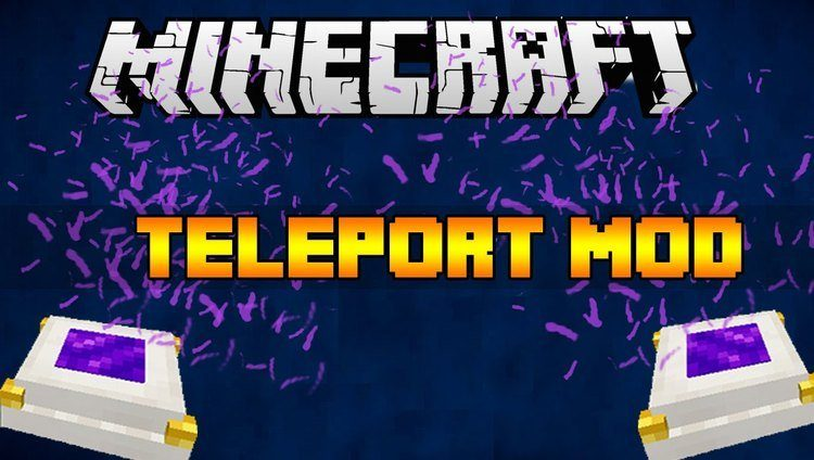 Lemon's Simple Teleporters для Minecraft 1.8.9 - мод на телепорты