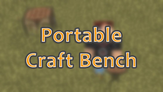 Portable Craft Bench для Minecraft 1.8 - мод на переносной верстак